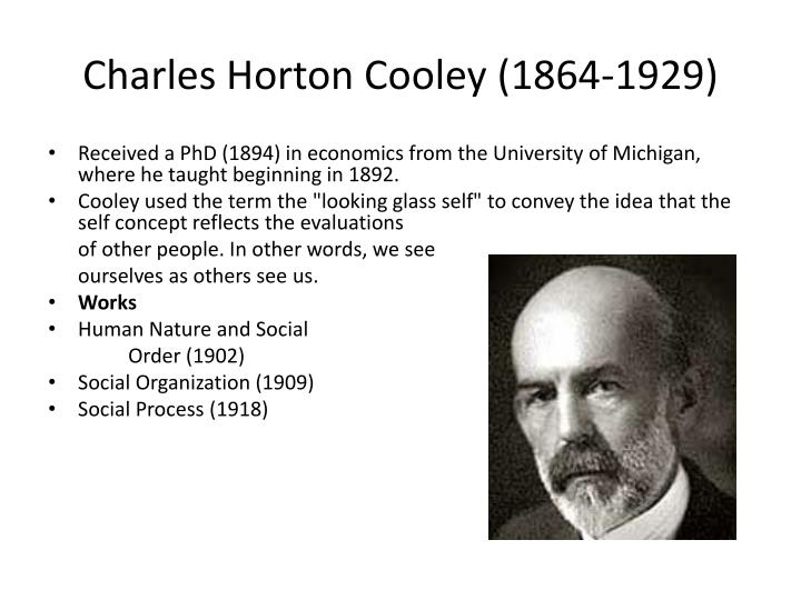 Charles Horton Cooley (1864-1929)