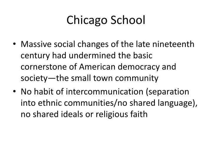 Chicago School