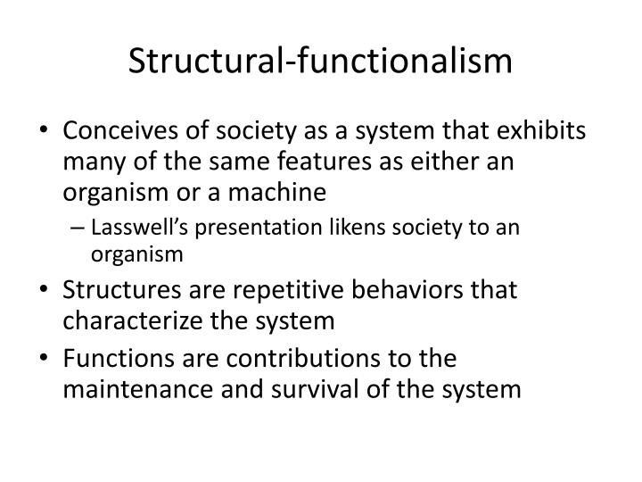Structural-functionalism