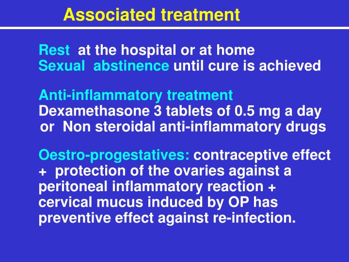 Associated treatment