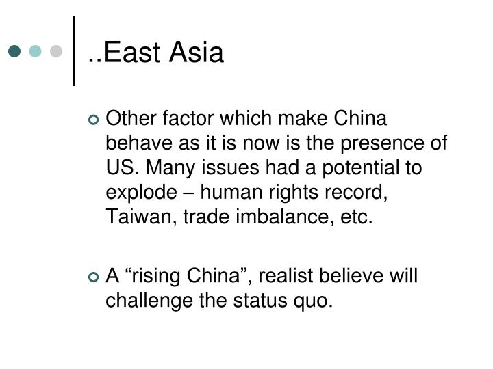 ..East Asia