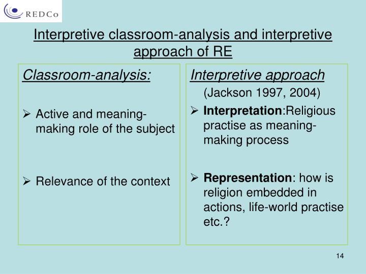 Classroom-analysis: