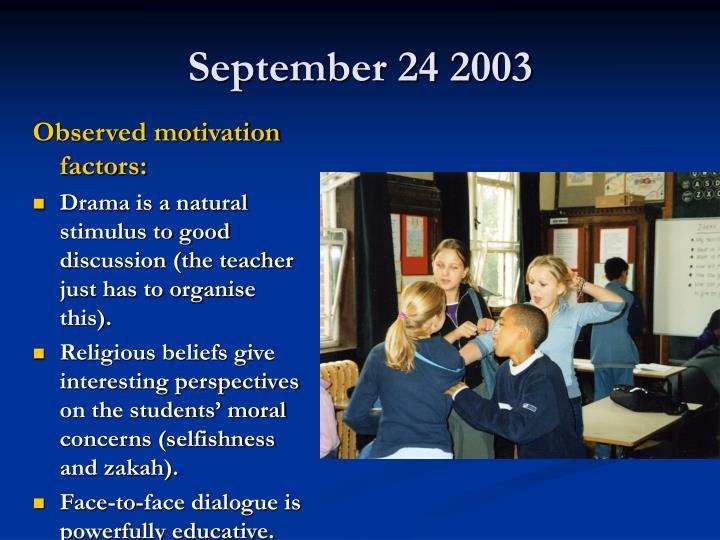September 24 2003