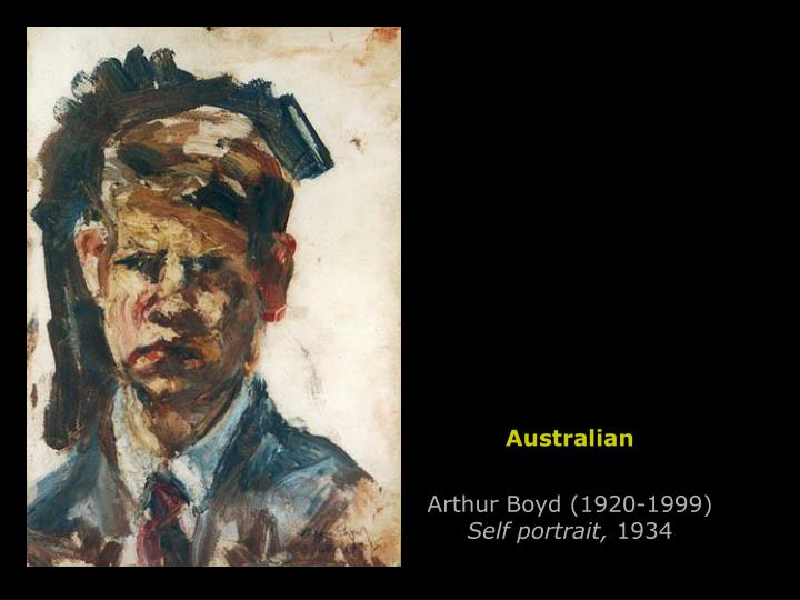 Arthur Boyd (1920-1999)