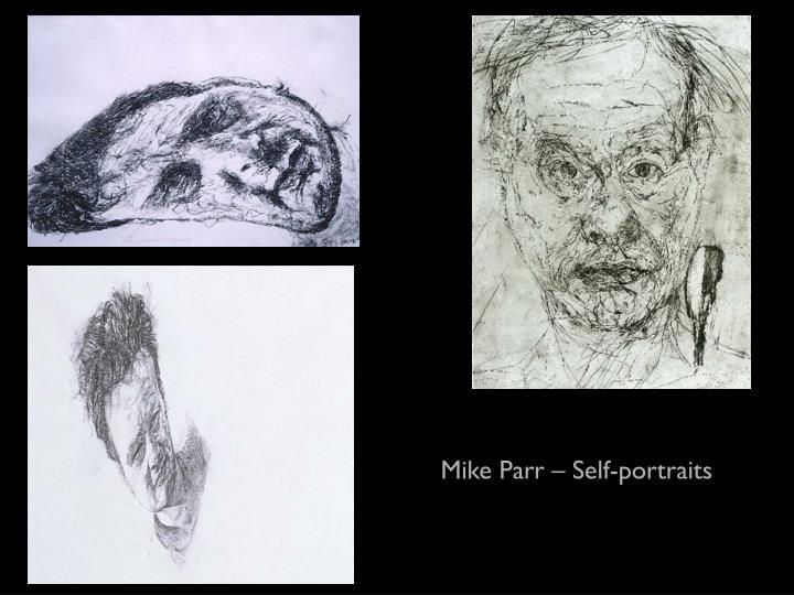 Mike Parr – Self-portraits