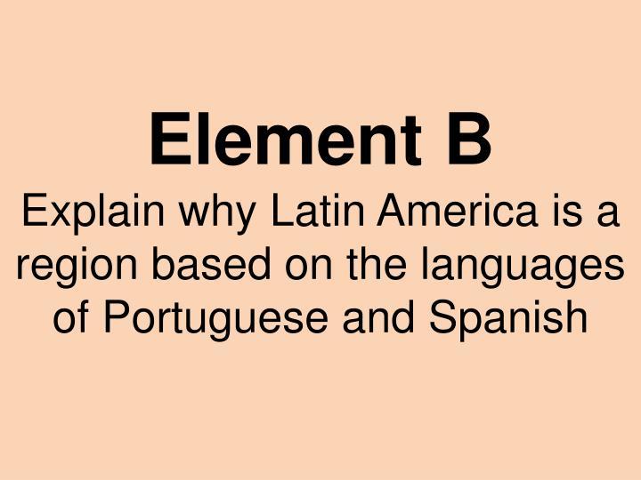 Element B
