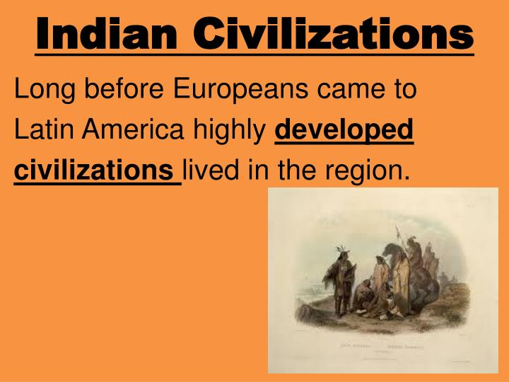 Indian Civilizations