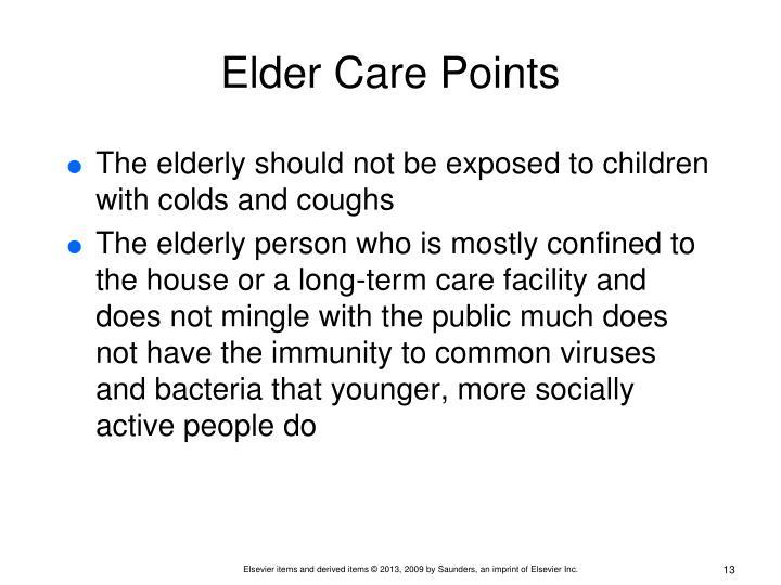 Elder Care Points