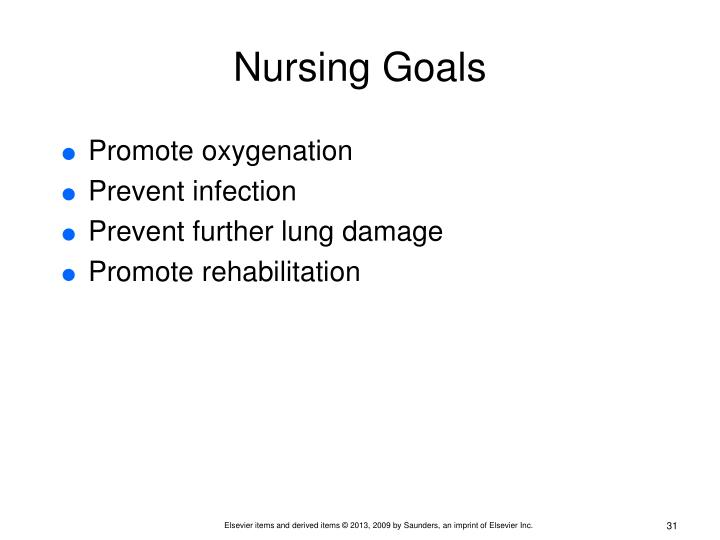 Nursing Goals