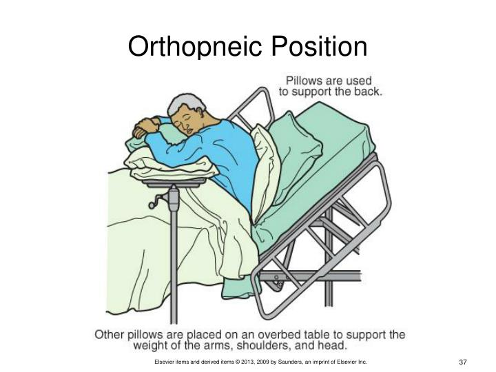 Orthopneic Position