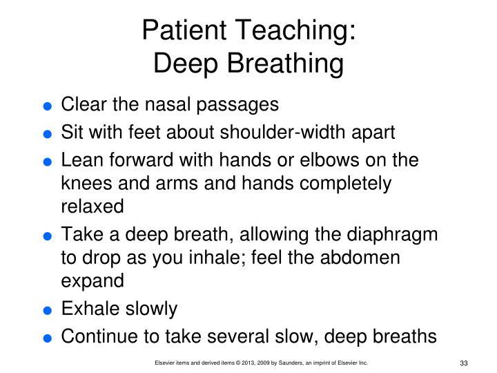 Patient Teaching: