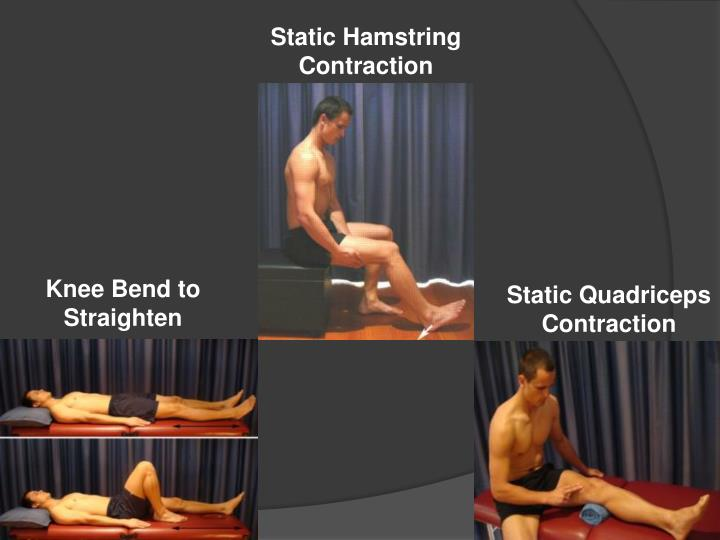 Static Hamstring Contraction