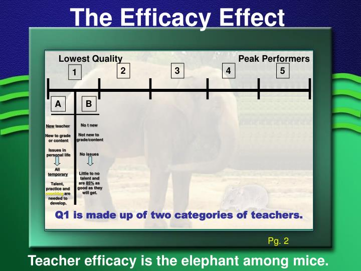 The Efficacy Effect