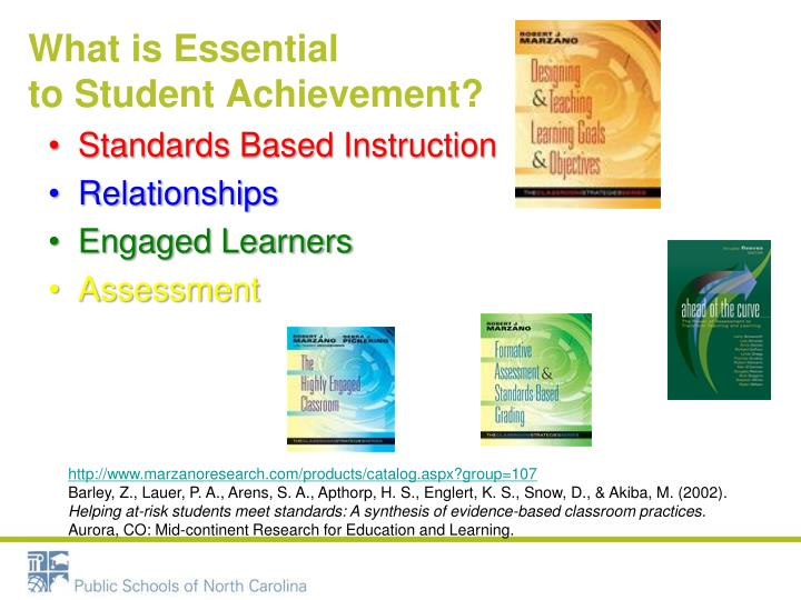 What is essential to student achievement