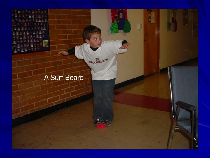 A Surf Board