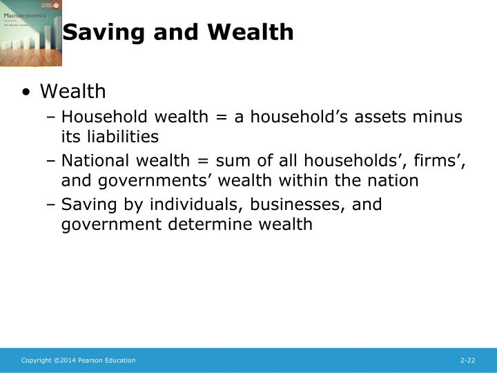 Saving and Wealth