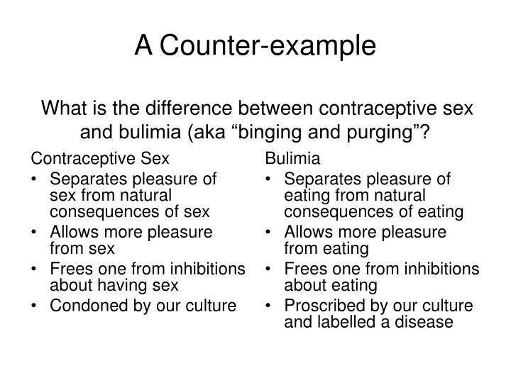 Contraceptive Sex