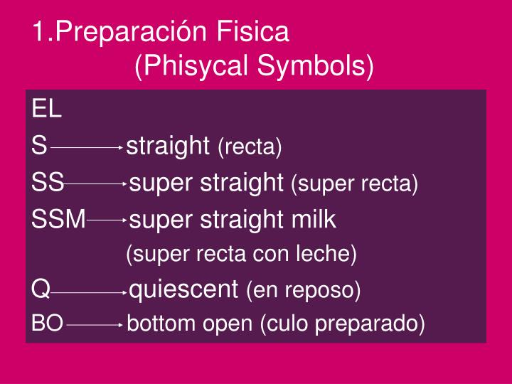 1.Preparación Fisica