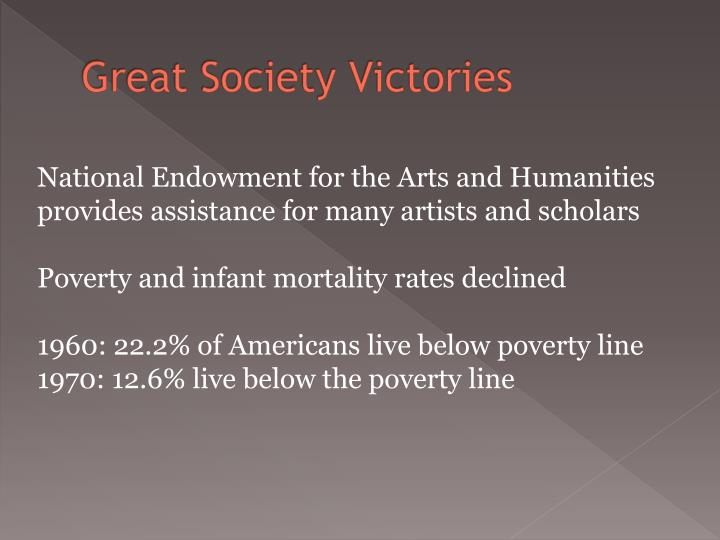 Great Society Victories