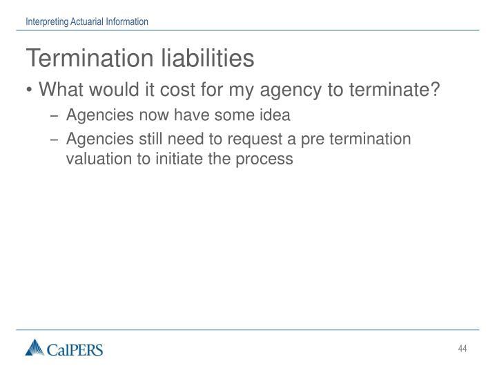 Interpreting Actuarial Information