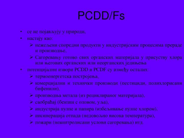 PCDD/F