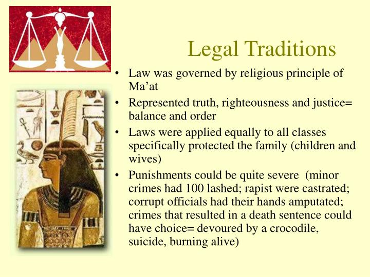 Legal Traditions