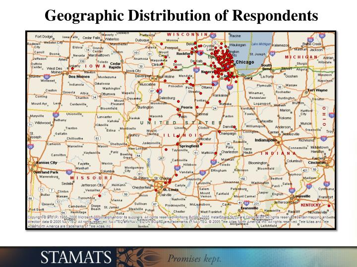 Geographic Distribution of Respondents