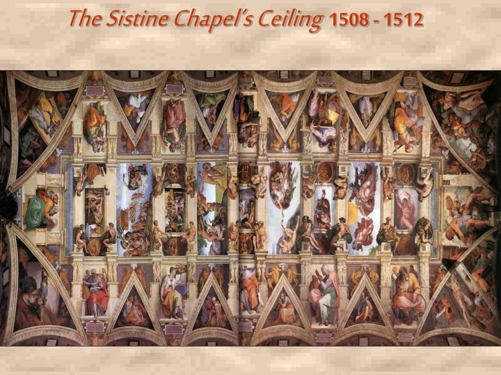 The Sistine Chapel's Ceiling