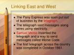 linking east and west3