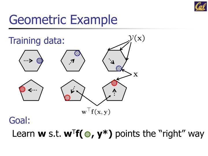 Geometric Example