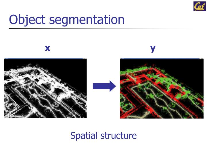 Object segmentation