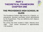 part 2 theoretical framework chapter one