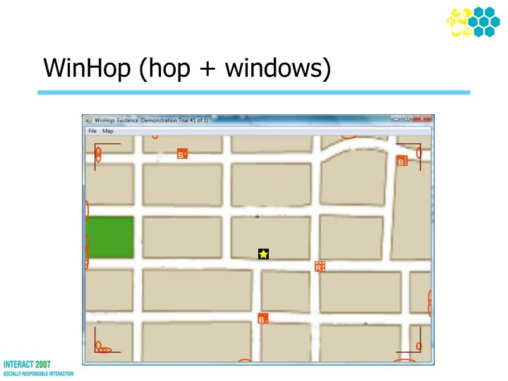 WinHop (hop + windows)