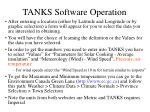 tanks software operation6
