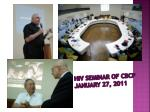 hiv seminar of cbcp january 27 2011