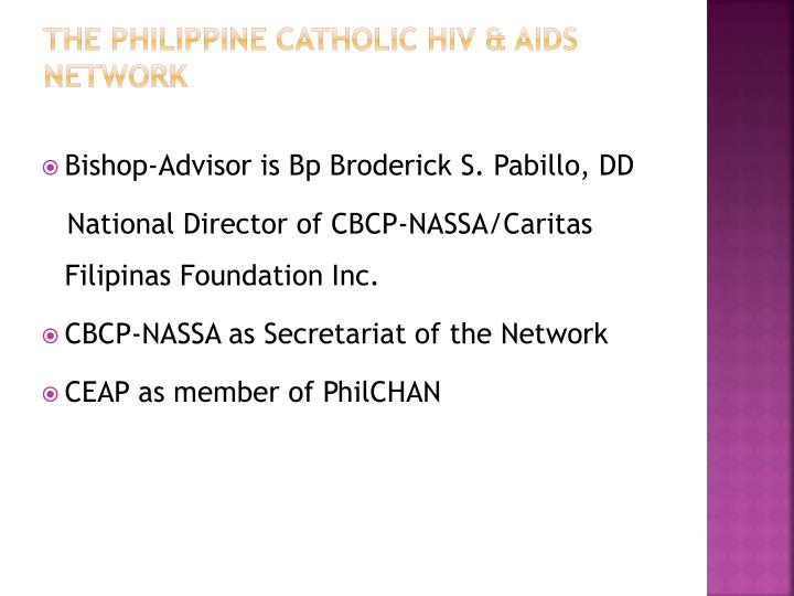The Philippine Catholic HIV & AIDS Network