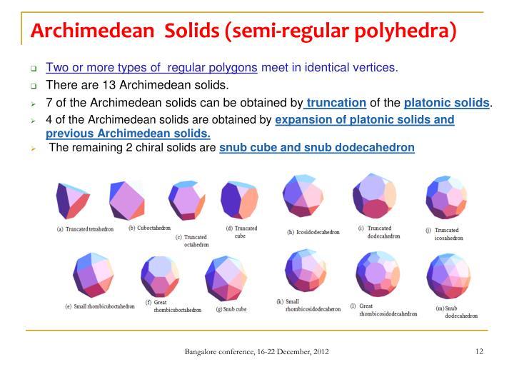 Archimedean