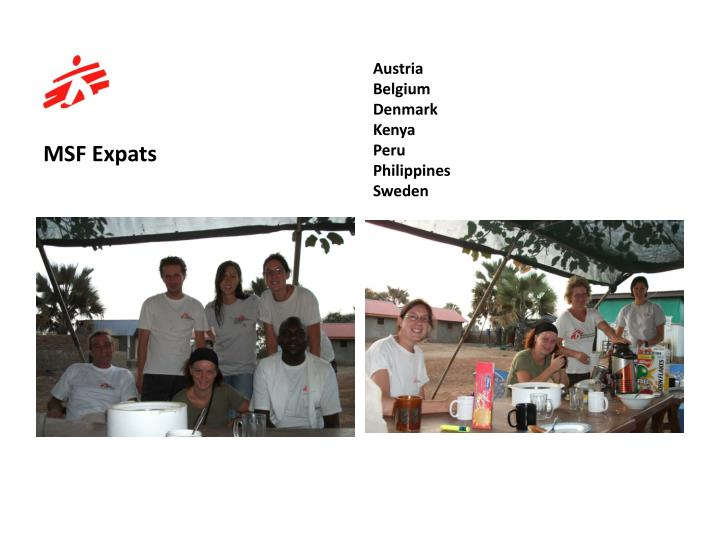 MSF Expats