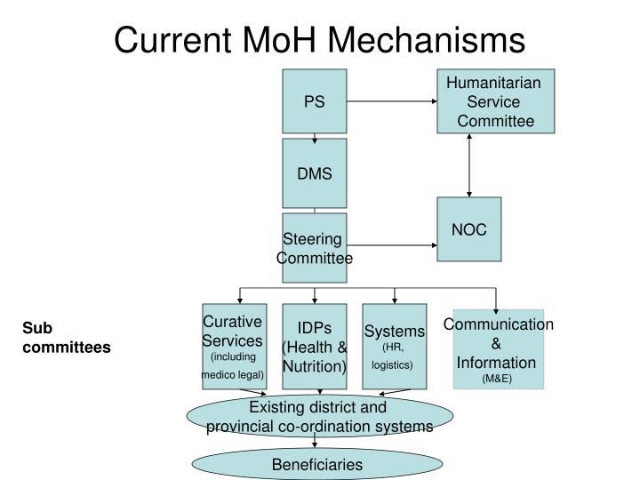 Current moh mechanisms