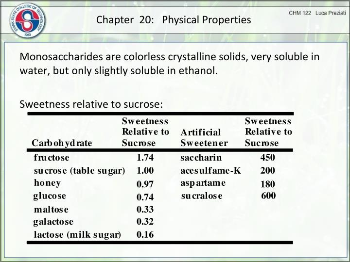 Chapter  20:   Physical Properties