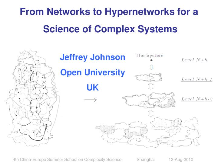 From Networks to Hypernetworks for a