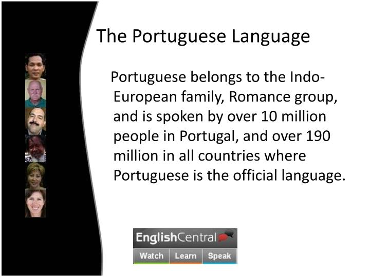 The Portuguese Language
