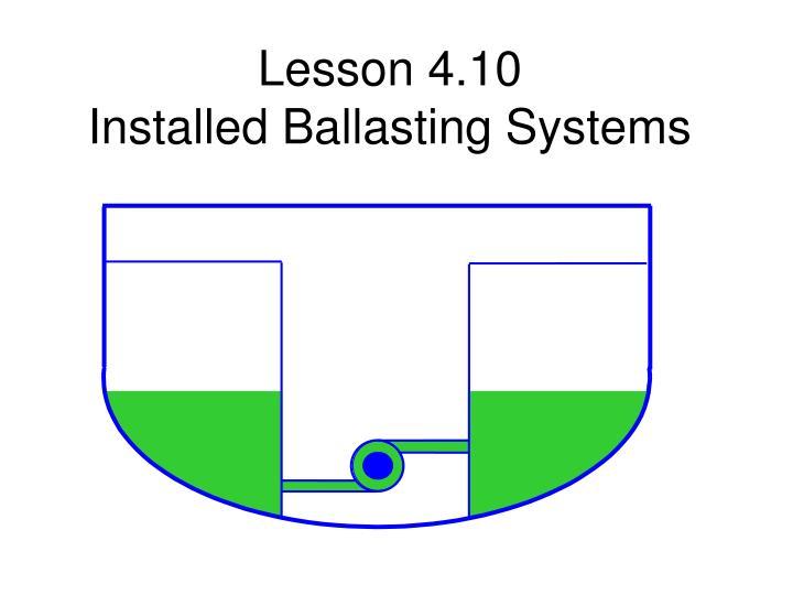 Lesson 4.10