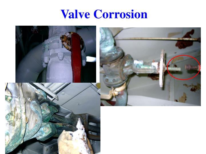 Valve Corrosion