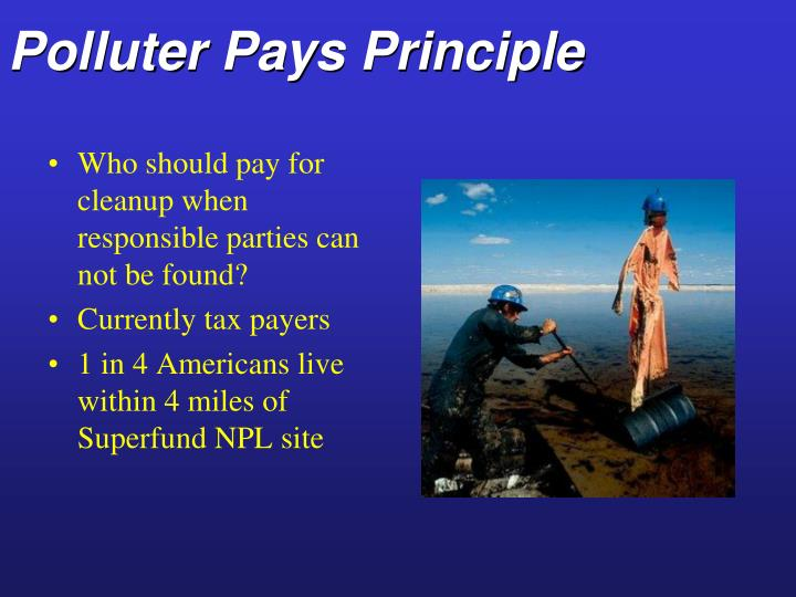 Polluter Pays Principle