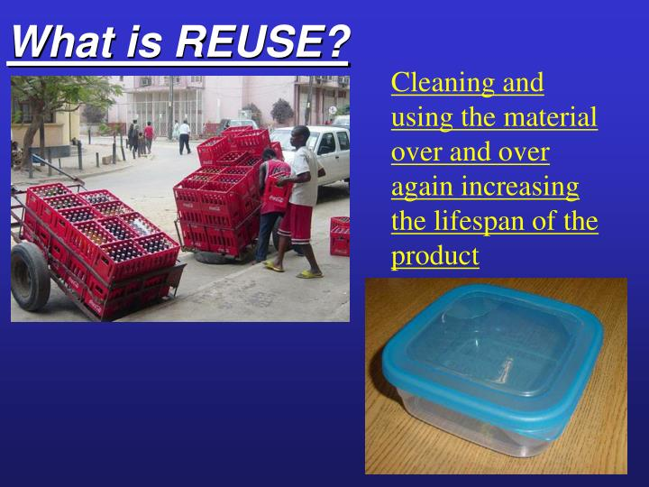 What is REUSE?