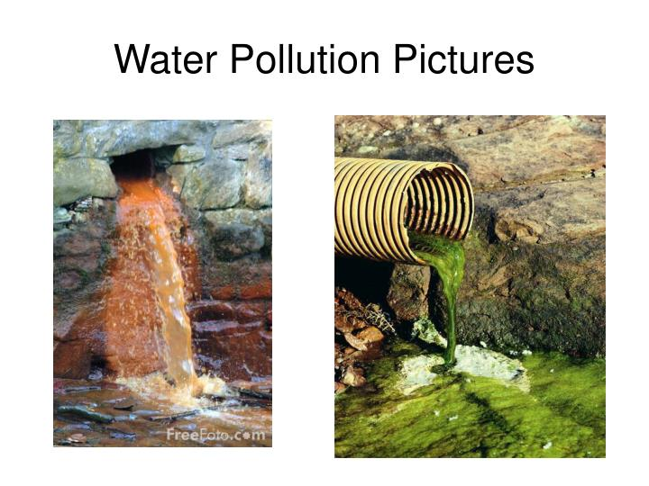 Water Pollution Pictures