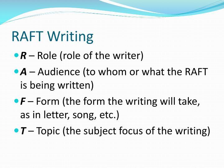 RAFT Writing
