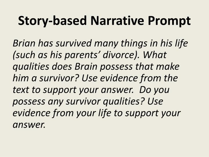 Story-based Narrative Prompt