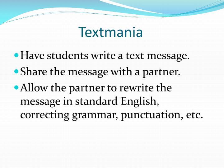 Textmania